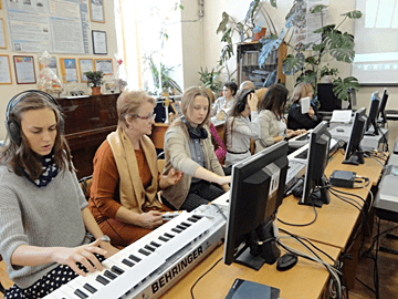 КОМПЬЮТЕРНАЯ МУЗЫКА В СИСТЕМЕ ПОДГОТОВКИ ПЕДАГОГА-МУЗЫКАНТА | COMPUTER MUSIC IN THE TEACHER-MUSICIAN TRAINING
